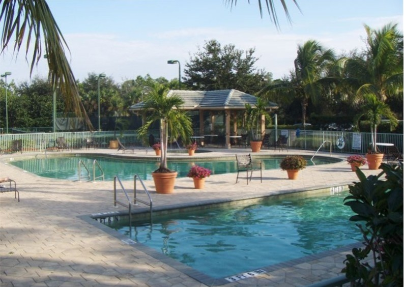 Cypress Woods community resort and lap pools