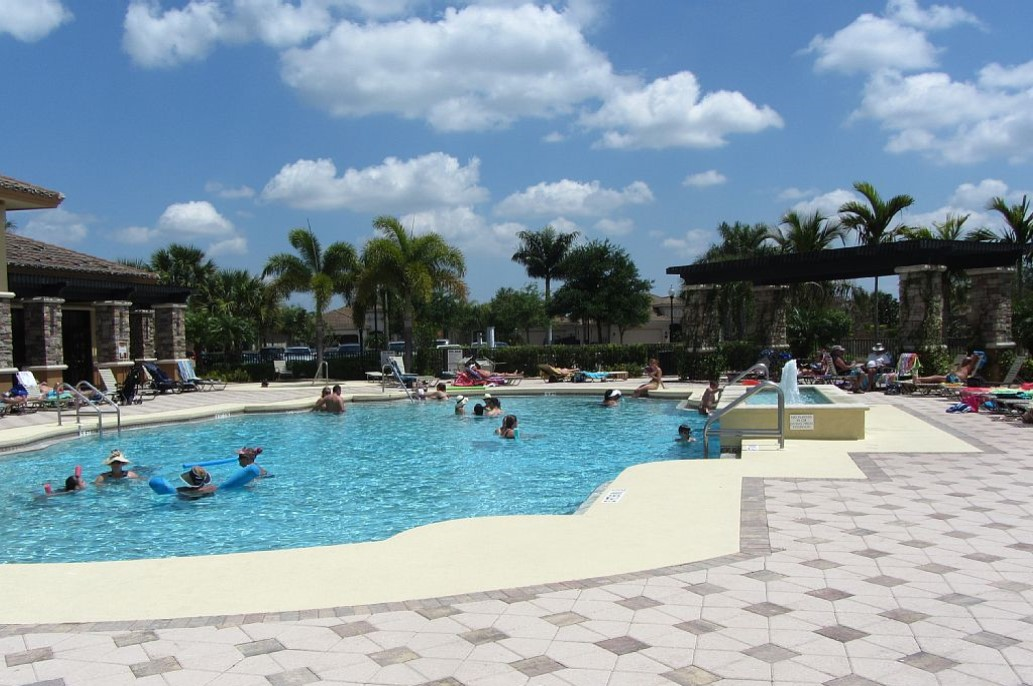 Pool at Heritage Bay, Naples FL