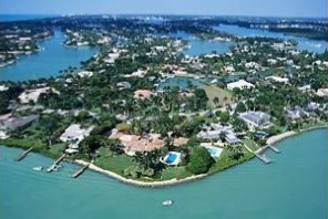 Aerial View of Port Royal, Naples FL