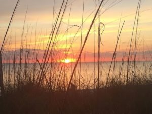 Naples Beaches, Delnor Wiggins Beach Sunset