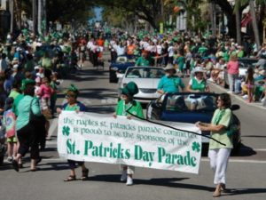 Naples Events - St. Patrick's Day Parade