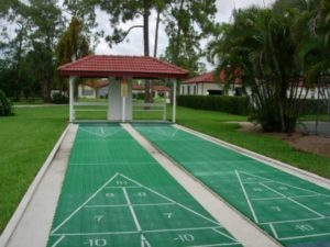 Forest Lakes Shuffle Board Courts
