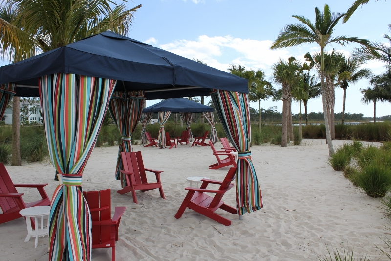 The Isles of Collier Preserve Poolside Cabanas