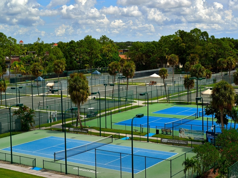 Tennis Courts at Naples Bath and Tennis