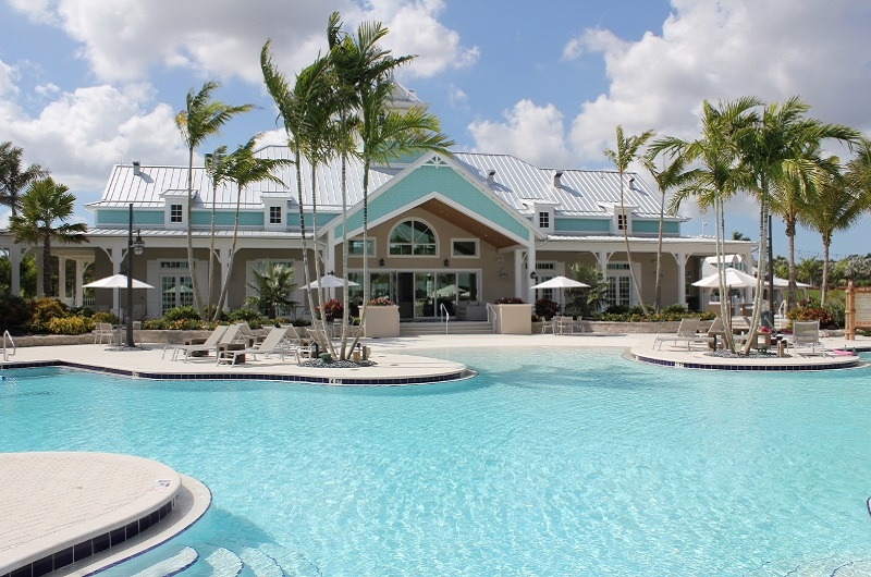 Resort Pool and Island Club at Naples Reserve