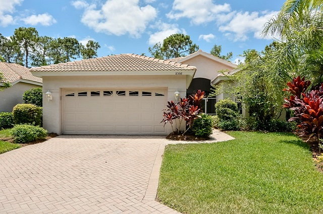 Naples Home Types - a Typical Single Family Home