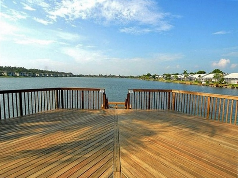 Crown Pointe Fishing Dock
