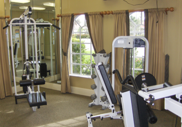 Forest Park Exercise Room
