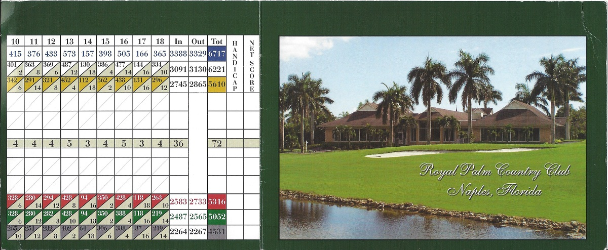 Royal Palm Country Club Front