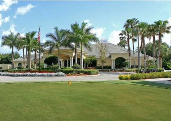 Cypress Woods Club House and pratice green