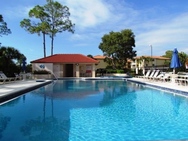 The Pool at Foxfire Country Club, Naples FL