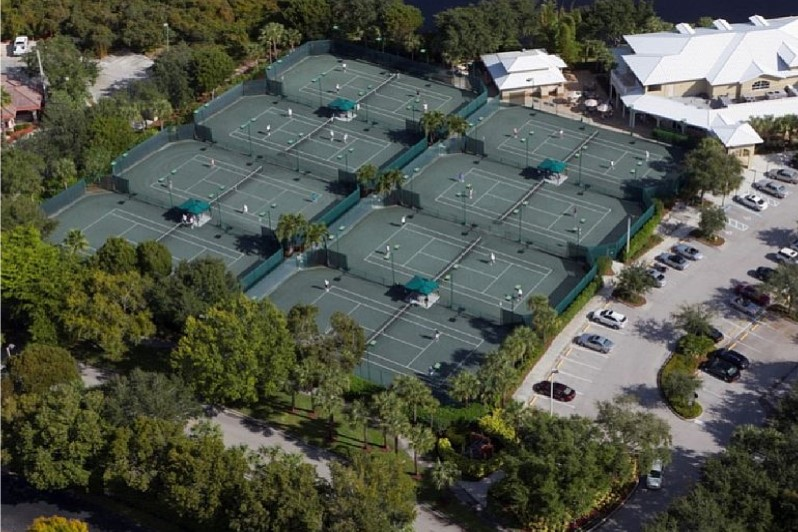 Tennis at Pelican Bay, Naples FL