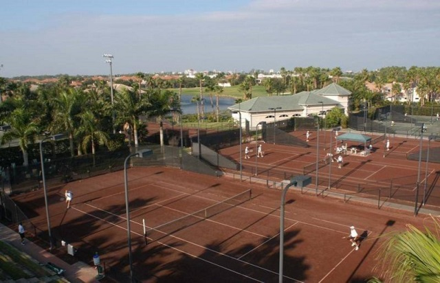 Kensington Golf and Country Club, Naples FL Tennis Courts