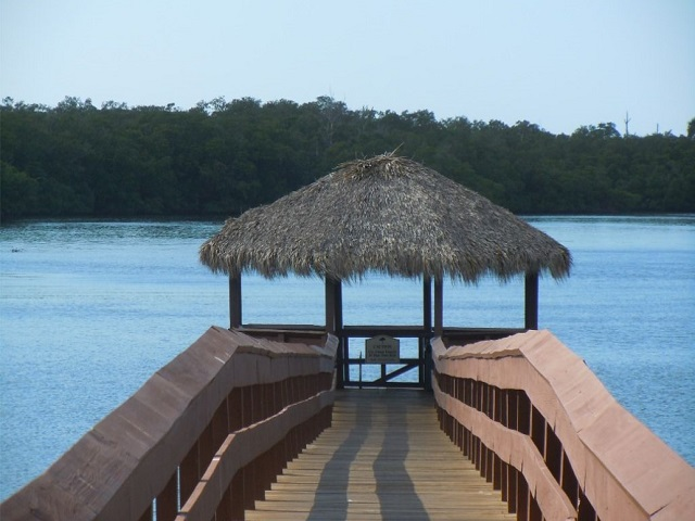 Bay Forest Dock and Chickee Hut