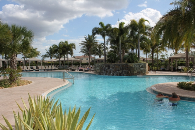 Riverstone Community Pool, Naples FL