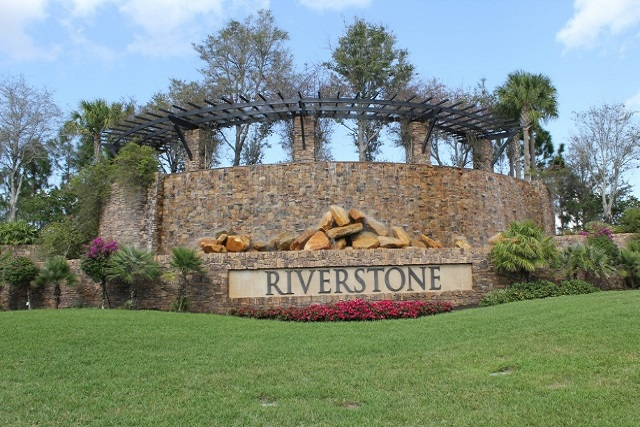 Riverstone Entrance, Naples FL