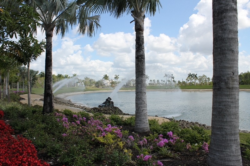 Entrance Lake at Naples Reserve