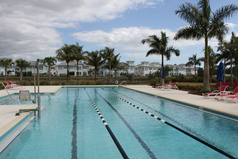 The Isles of Collier Preserve Lap Pool