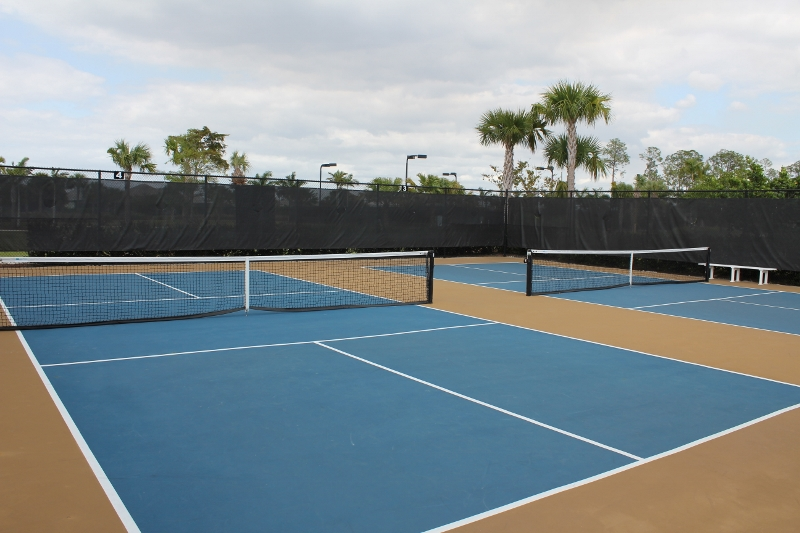 The Isles of Collier Preserve Pickleball Courts