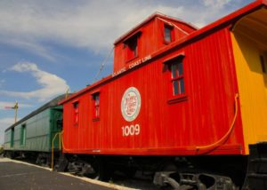 Naples Depot Museum Train Cars