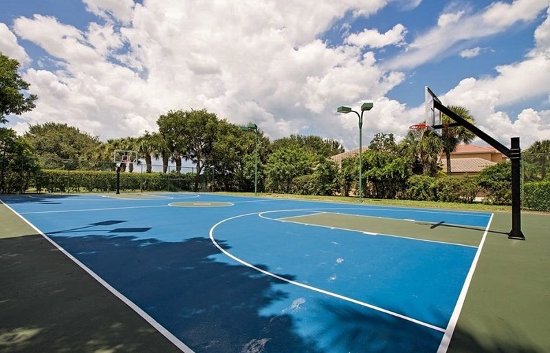 Indigo Lakes Basketball Court