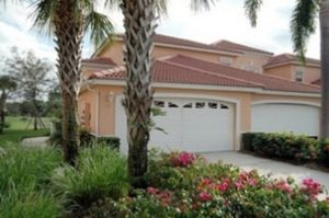 Naples Home Types - a Typical Coach Home