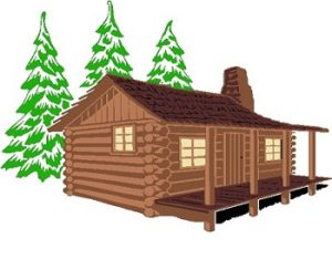 Photo of a Log Cabin for the Florida Homestead Exemption