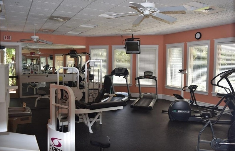 Longshore Lake Exercise Room