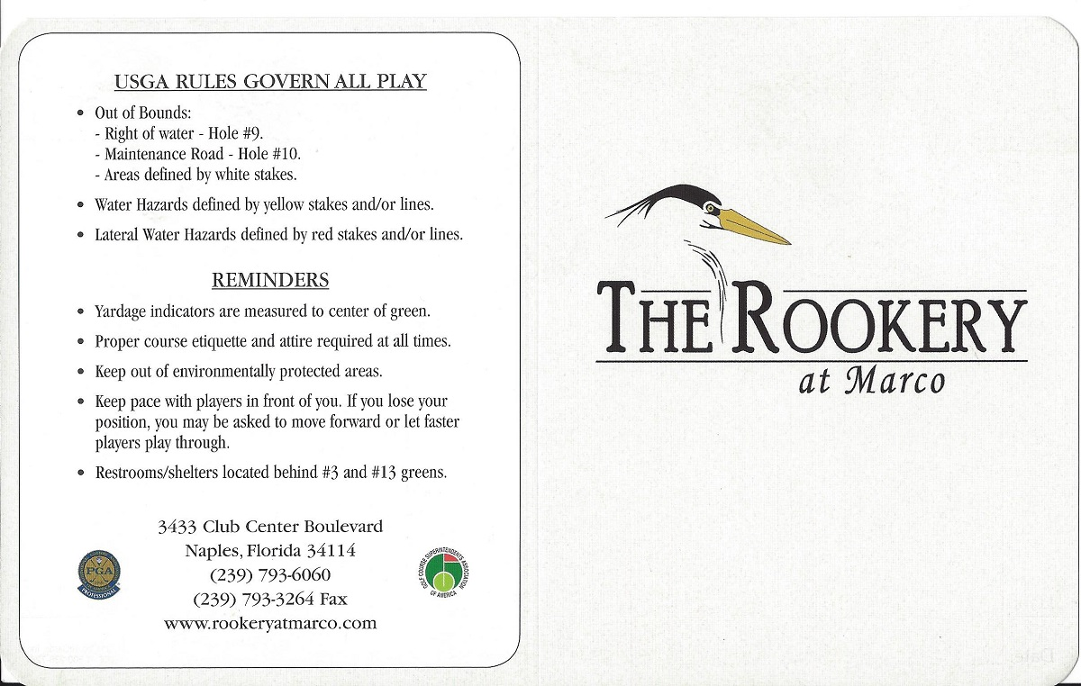 The Rookery Front